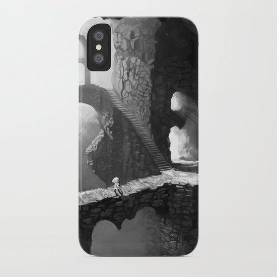 Delve iPhone Case