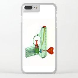 squirtgun love Clear iPhone Case