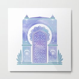 Temple of Dreams Metal Print