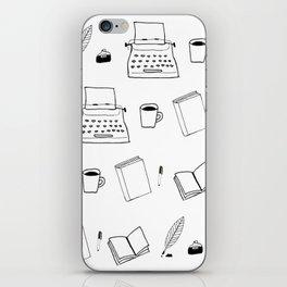 Write-or-Die (Pattern) iPhone Skin