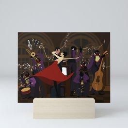 Orchestra and dance Mini Art Print