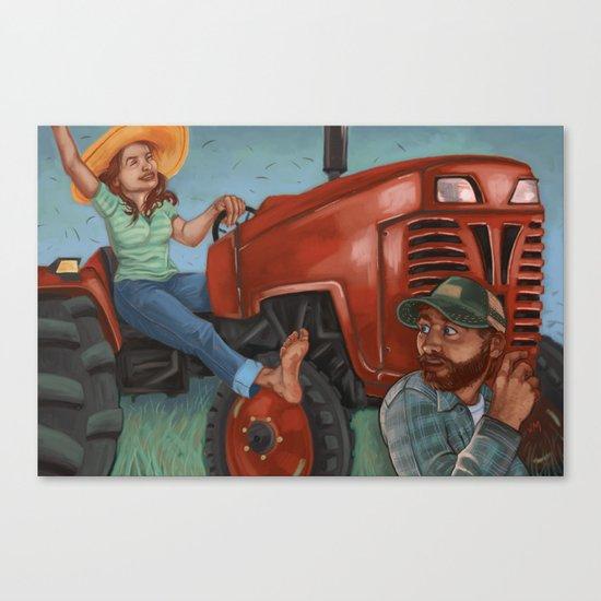 Springtime Mulligan Canvas Print