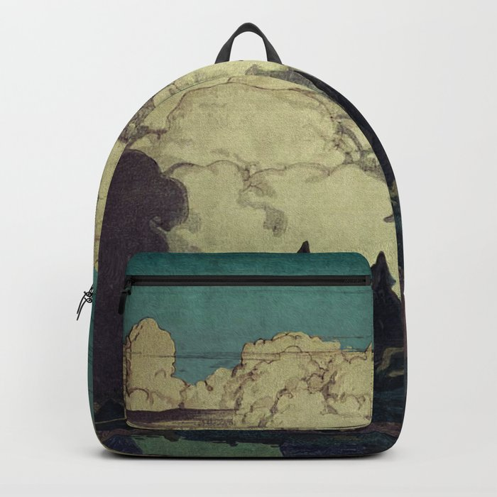 The Pending Storm at Hike Backpack