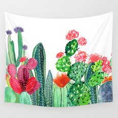 A Prickly Bunch 4 Wall Tapestry