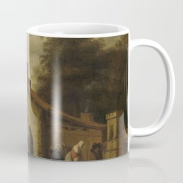 An Inn in the Neighborhood of Nantes, Lambert Doomer, 1640 - 1660 Coffee Mug
