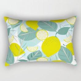 Lemons and Slices Rectangular Pillow