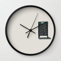 madrid Wall Clocks featuring Madrid by qteln