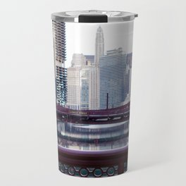 Chicago River Walk Travel Mug