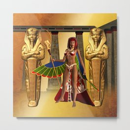 Wonderful egyptian women Metal Print
