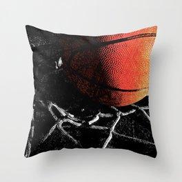 Basketball art cx vs 4 Throw Pillow