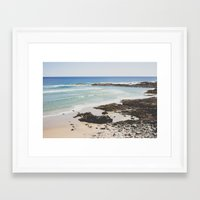 maine Framed Art Prints featuring Maine     by Ashley Jensen
