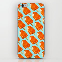 Popsicle Pattern - Creamsicle iPhone Skin