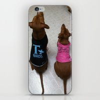grease iPhone & iPod Skins featuring Grease Dogs by Bruce Wayne