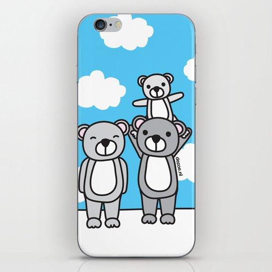 Polar Bear Family iPhone & iPod Skin
