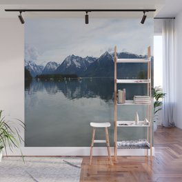 Peaceful Evening At The Lake Wall Mural