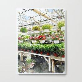 flower store Metal Print