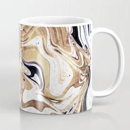 Liquid Bronze and Marble Coffee Mug