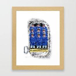 Sardine Captains Framed Art Print