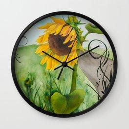 Dekkers Way Wall Clock