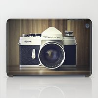 old school iPad Cases featuring Old School by Jessica Gullasch