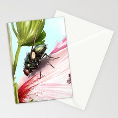 Fly on a flower 15 Stationery Cards