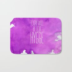 Today Will Be For Hygge Bath Mat