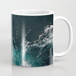 Bluish frothing ocean Coffee Mug