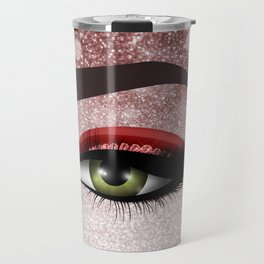 Glam diamond lashes eye #2 Travel Mug