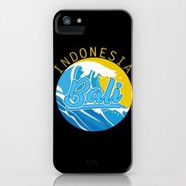 Indonesia Bali iPhone Case