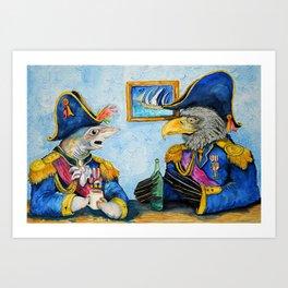 Admirals of the Ocean Seas Art Print