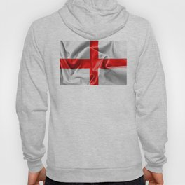 English St Georges Cross Flag Hoody