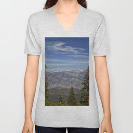Kings Canyon, California from Sequoia National Park Unisex V-Neck