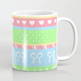 Creepy Cute Stripes Coffee Mug