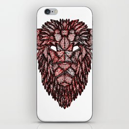 Lion Mask iPhone Skin