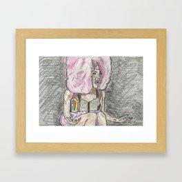 """I Feel Very Attacked!"" Framed Art Print"