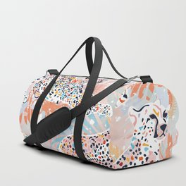 Colorful Wild Cats Duffle Bag