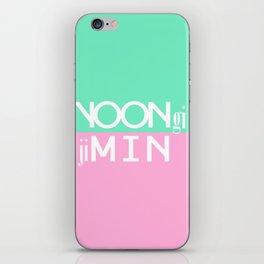 BTS: YoonMin iPhone Skin