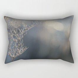 Last year's flower Rectangular Pillow