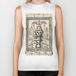 Sun dials and roses of yesterday Biker Tank