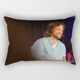 Jared Padalecki | DCcon 2014 Rectangular Pillow