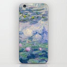 """Claude Monet """"Water Lilies(Nymphéas)"""" (9) 1916–19.jpg iPhone Skin"""