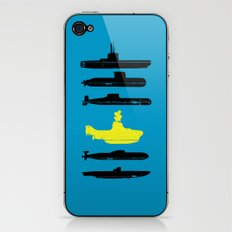 Know Your Submarines V2 iPhone & iPod Skin