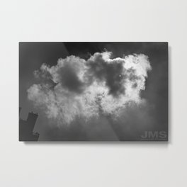 Lone Cloud (over Manhattan) Metal Print