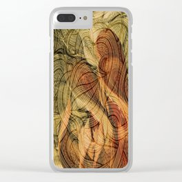 Four of Wands Clear iPhone Case