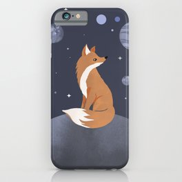 The lonely Fox iPhone Case