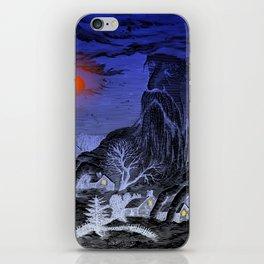 The Winter King iPhone Skin