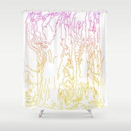 Woods Hoods Shower Curtain