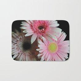 Pink Daisy Boquet Bath Mat