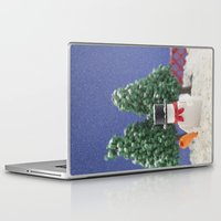 snowman Laptop & iPad Skins featuring Snowman by Pedro Nogueira