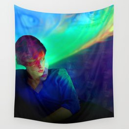 La Roux - Reflections Are Protection - Petrolealis Wall Tapestry